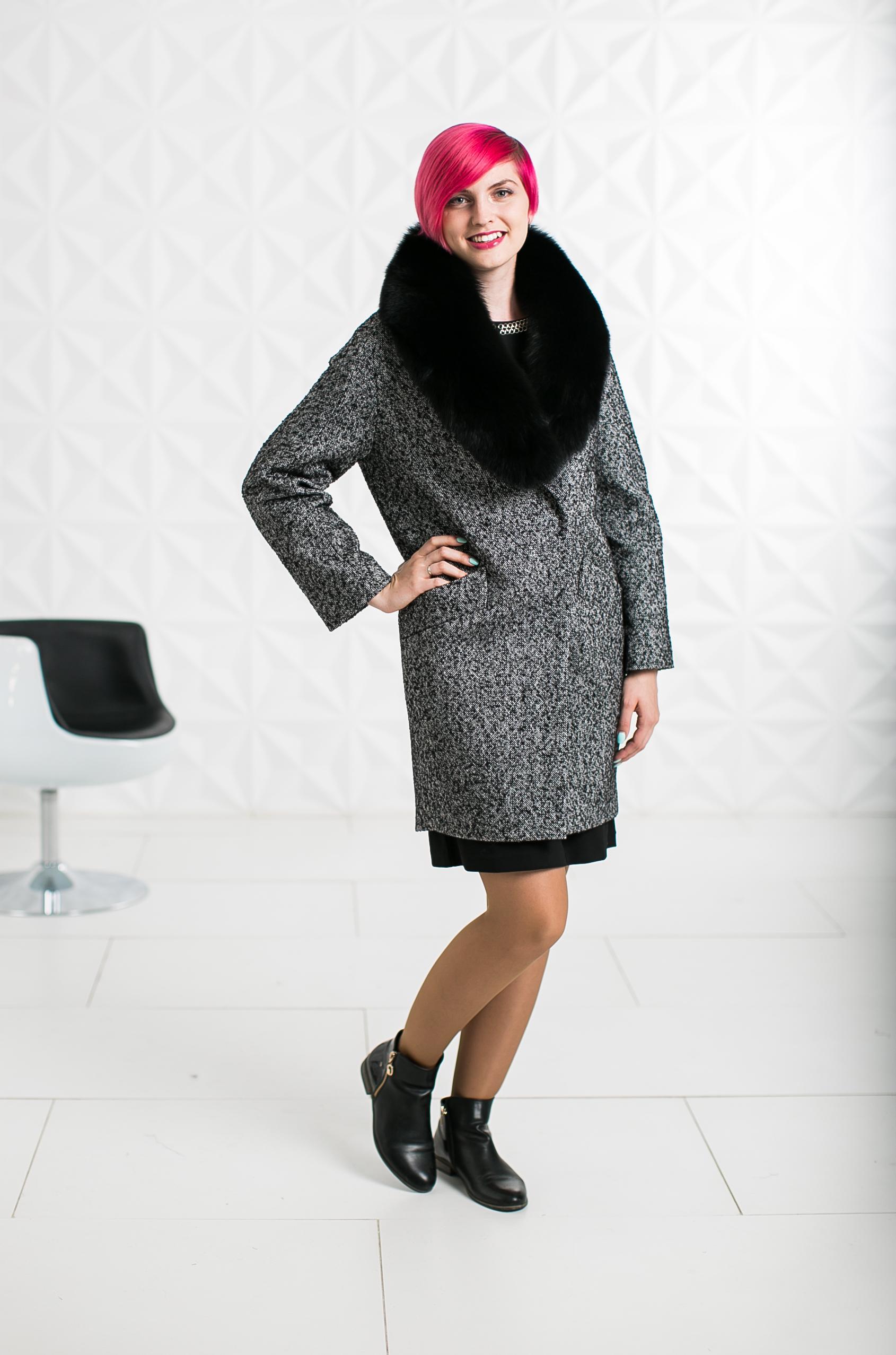 Зимнее пальто с мехом - Женские пальто SEZALTO от производителя в Москве 3dca9ca04070d